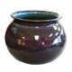 Mission Revival Purple Vase