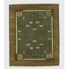 The Ginkgo Rug in Sage
