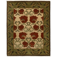 The Chrysanthemum Rug
