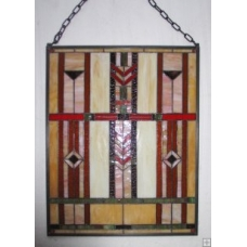 Bennett Chevron Window Panel